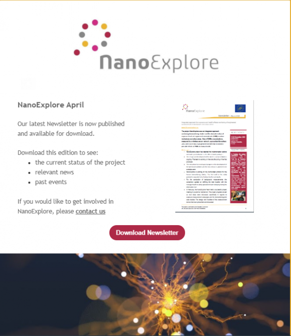 NanoExplore April 2020 Newsletter