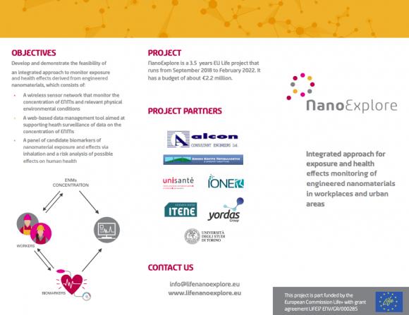 NanoExplore Tri-fold leaflet